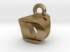 3D Monogram Pendant - OYF1 3d printed