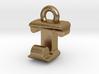 3D Monogram - TJF1 3d printed