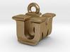 3D Monogram - UMF1 3d printed