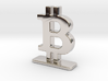 Bitcoin Stand 3d printed