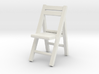 1:48 Wooden Folding Chair 3d printed