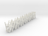 10 1:48 Wooden Folding Chair 3d printed