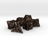 Celtic Dice Set 3d printed