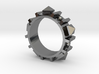 Edwardian Guard II Ring - Sz. 10 3d printed