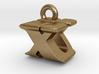 3D Monogram - XUF1 3d printed