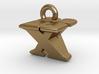 3D Monogram - XVF1 3d printed