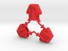 1-25 Three Silent Robots Plastic 3d printed