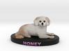 Custom Dog Figurine - Honey 3d printed