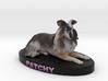 Custom Dog Figurine - Patchy 3d printed