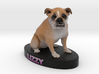 Custom Dog Figurine - Lizzy 3d printed
