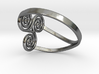 triple spiral ring  3d printed