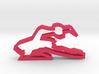 Ballerina 90 Cookie Cutter 3d printed