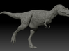 Walking Albertosaurus sarcophagus - 1/40 3d printed Zbrush render of the model