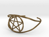 Woven Pentacle cuff/armband 3d printed