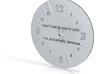 feedmee clock 3d printed