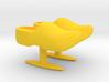 Wooden Shoe Cufflink / Klomp manchetknoop 3d printed