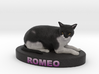 Custom Cat Figurine - Romeo 3d printed