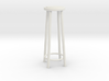 "1:24 42"" Simple Stool 3d printed"