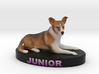 Custom Dog Figurine - Junior 3d printed