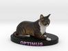 Custom Cat Figurine - Optimus 3d printed