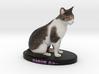 Custom Cat Figurine - Sabor 3d printed