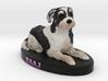 Custom Dog Figurine - Baaj 3d printed