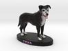 Custom Dog Figurine - Teva 3d printed