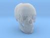 25mm 1in Keychain Bead Human Skull 3d printed