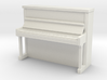 1:48 Upright Piano 3d printed