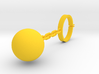 Wine Charm - Ball And Chain 3d printed