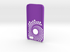 Iphone5 Cover Phi Spiral 3d printed