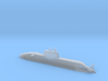 1/700 Dolphin class submarine (Waterline) 3d printed