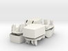 Working 6 inch turrets x 4 1/96 3d printed