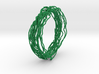 Turbulent Bangle 2 3d printed