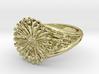Gerbera Daisy Ring 3d printed