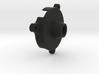 Spitfire Rudder Trim Wheel Cover 3d printed