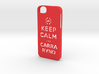 Iphone5 Keep Calm 3d printed