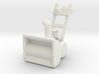 """1:87 28"""" 2-Stage Personal Snow Blower 3d printed"""