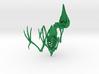 Bare-Fronted Hoodwink Bird Skeleton 3d printed