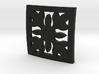 Hawaiian Quilt Block Pendant 3d printed