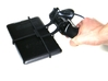 Xbox 360 controller & HP TouchPad 4G 3d printed In hand - A Nexus 7 and a black Xbox 360 controller