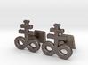 Brimstone Cufflinks 3d printed