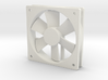 1/6 Scale 120mm Comp Fan 3d printed