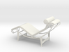 Chair scale 1:20 metric 3d printed