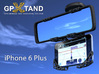 GPXtand - Universal Mobile and GPS Car Holder 3d printed GPXtand with iPhone 6 plus - WITH OR WITHOUT CASE!