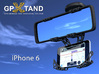 GPXtand - Universal Mobile and GPS Car Holder 3d printed GPXtand with iPhone 6 - WITH OR WITHOUT CASE!