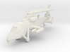 1/300 Chinese WZ-19 Scout Helicopter Folded Rotors 3d printed
