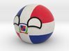 Dominican Republicball 3d printed
