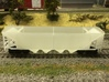 HO P-9 Ballast/Phosphate Hopper 3d printed Car before being cleaned and painted