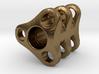 Triple Tritium Bead 2 (Pandora Thread) 3d printed